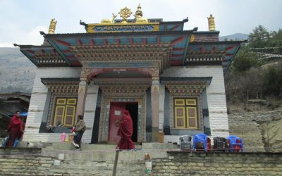 Upper Pisang Buddhist Temple – Nepal