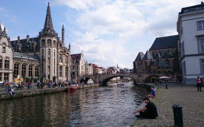 Canales en Gante – Bélgica