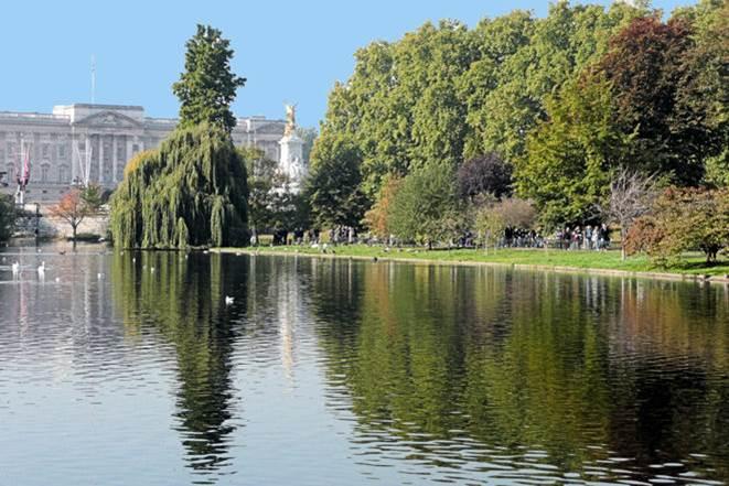 Jardines del Buckingham Palace – Gran Bretaña