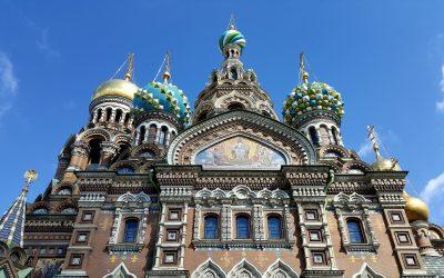 Iglesia San Salvador sobre la Sangre Derramada – Rusia