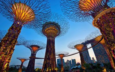 Jardines de la Bahía – Singapur