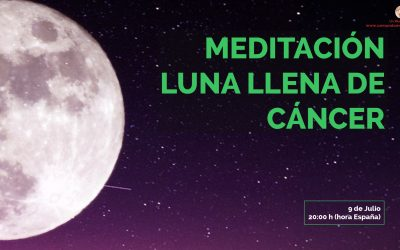 Meditación Luna Llena de Cáncer – Lucía Helena Da Silva