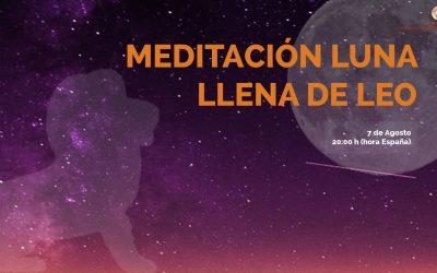 Meditación Luna Llena de Leo – Marta Paillet