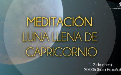 Meditación Luna Llena de Capricornio – Jorge Carvajal