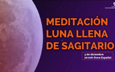 Meditación Luna Llena de Sagitario – Jorge Carvajal