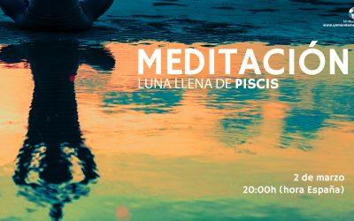 Meditación Luna Llena de Piscis – Jorge Carvajal