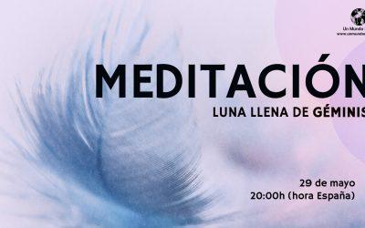 Meditación Luna Llena de Géminis – Jorge Carvajal