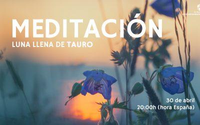 Meditación Luna Llena de Tauro – Pilar Salazar