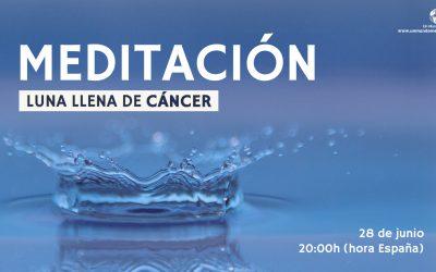 Meditación Luna Llena de Cancer – Pilar Salazar