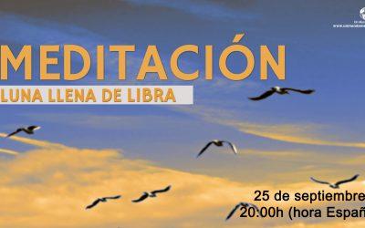 Meditación Luna Llena de Libra-Jorge Carvajal
