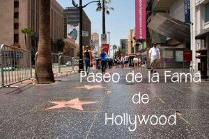 Paseo de la Fama, Hollywood – California – Estados Unidos