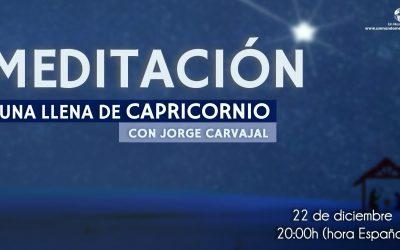 Meditación Luna Llena de Capricornio – Dr. Jorge Carvajal