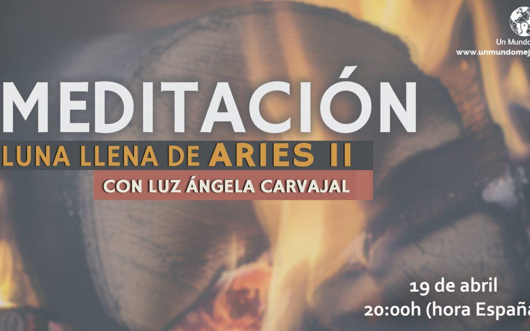 Meditación Luna Llena de Aries 2 Luz Angela Carvajal