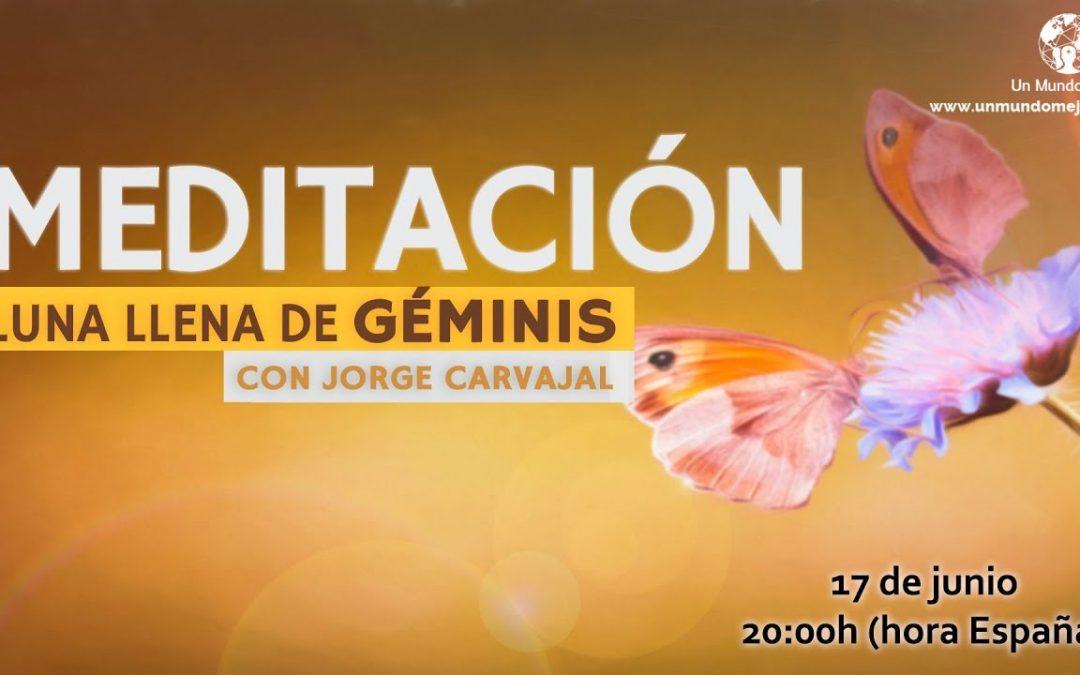 Meditación Luna Llena de Geminis – Jorge Carvajal