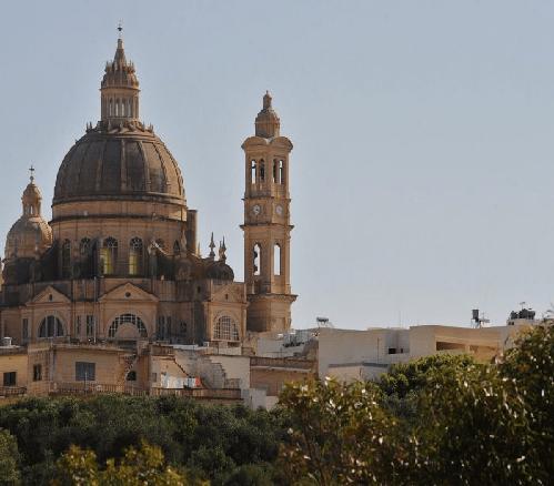 Iglesia de San Juan Bautista – Xewkija – Isla de Gozo – Malta