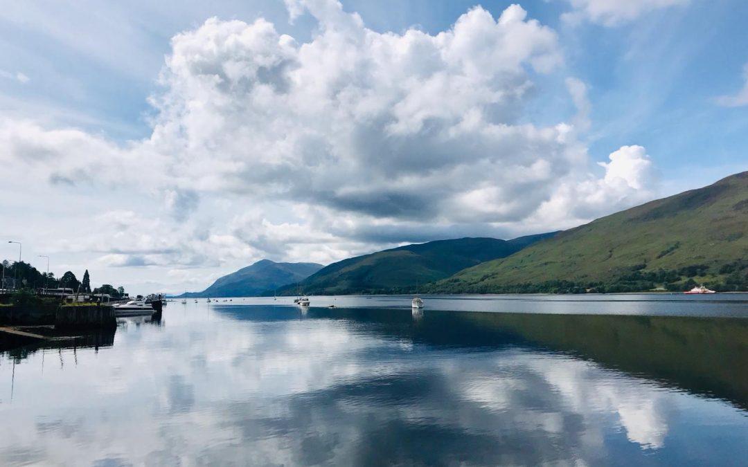 Lago Linnhe – Escocia – Gran Bretaña