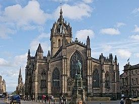 Catedral St. Giles- Edimburgo – Escocia – Gran Bretaña