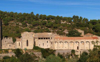Abadía Santa María D'Orbieu-Lagrasse- Francia