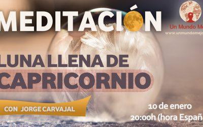 Meditación Luna Llena de Capricornio 2020 – Jorge Carvajal