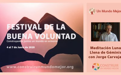 Meditación Luna Llena de Géminis 2020 – Jorge Carvajal