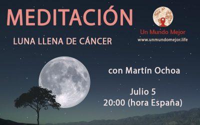 Meditación Luna Llena de Cáncer-Martín Ochoa